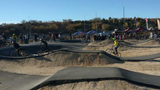 Circuito de BMK en Barajas
