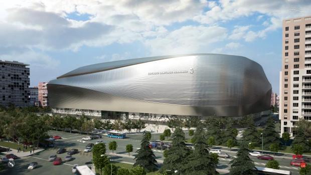 El Real Madrid pide la licencia a Urbanismo para comenzar la reforma del Bernabéu