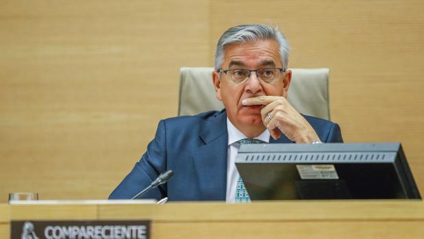 El coronel jefe de la UCO, Manuel Sánchez Corbí