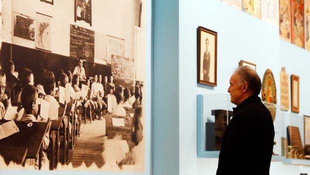 Imatge de l'exposició en la Nau