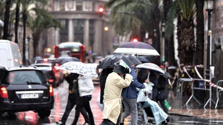 El tiempo en valencia las lluvias se limitar n a este - El tiempo en catarroja valencia ...