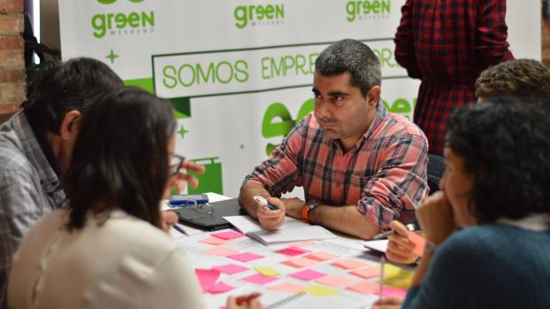 Una actividad en la edición anterior de Greenweekend, en Benidorm