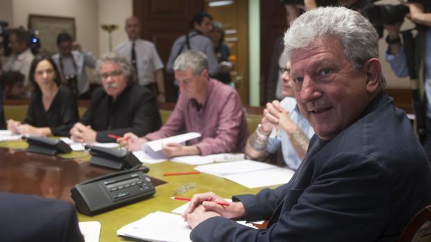 Pedro Quevedo, presidente de la Comisión de investigación sobre la presunta financiación ilegal del PP