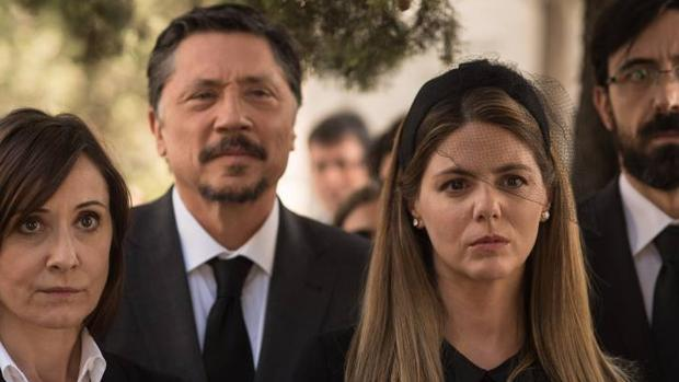 Carlos Bardem y Manuela Velasco, en la nueva serie «Traición»