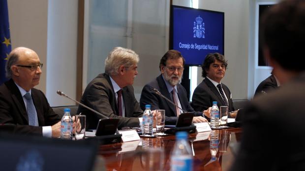 Reunión del Consejo de Seguridad Nacional