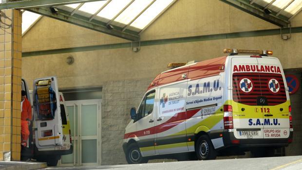 Imagen de una unidad de emergencias n Alicante