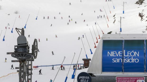 La estación de esquí de San Isidro, en una imagen de archivo