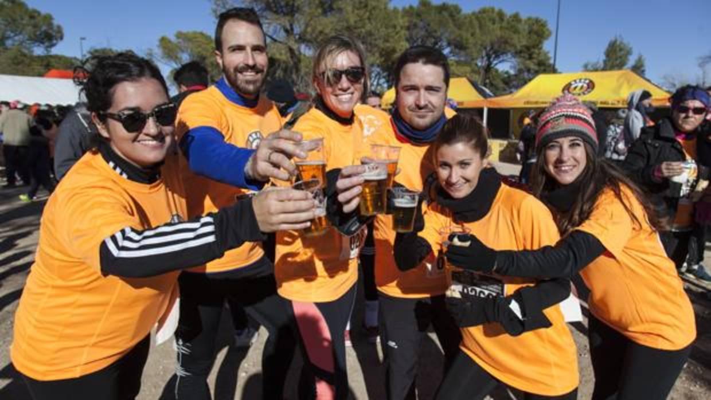 Más de 500 corredores se dan cita en Beer Runners Albacete
