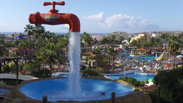 Un parque temático en Tenerife en 1997