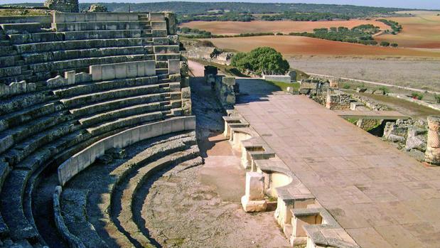 Teatro de Segóbriga, en la provincia de Cuenca