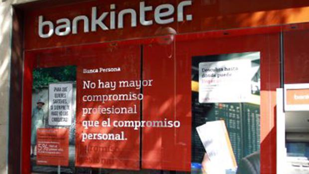 Sucursal de Bankinter, entidad condenada por una hipoteca multidivisa