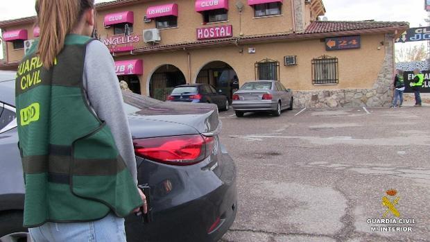 En este club de alterne de Otero fueron detenidos dos de los presuntos implicados en el rapto