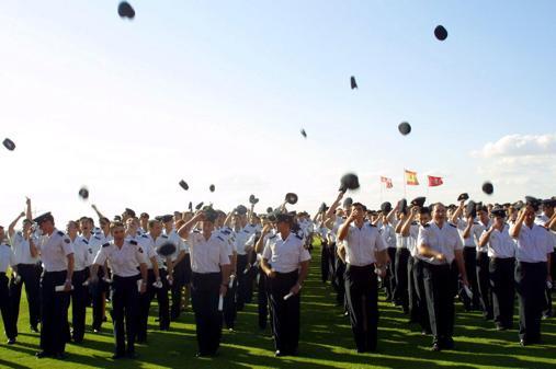 Imagen de archivo de la Escuela de Policía Nacional de Ávila