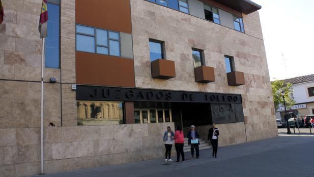 Fachada del Palacio de Justicia de Toledo