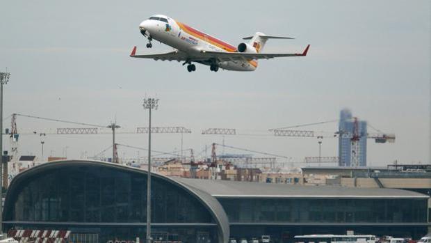 Imagen de un avión de Air Nostrum