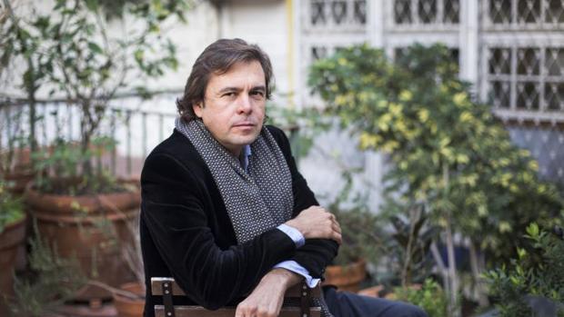 Andreu Jaume, durante la entrevista con ABC