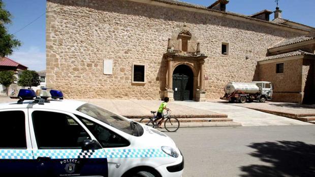 En esta iglesia se refugió la mujer después de cometer el delito
