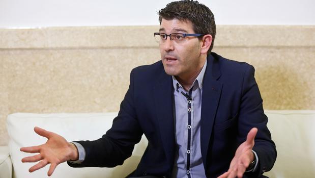 Imagen del presidente de la Diputación de Valencia, Jorge Rodríguez