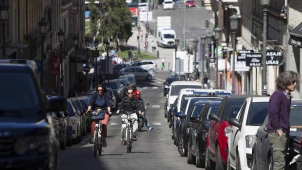 La calle de Leganitos, ubicada dentro de la APR de Ópera, es la que más sanciones interpone