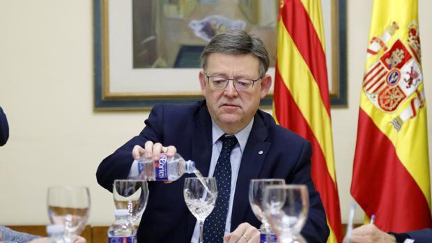 Imagen de Ximo Puig tomada este lunes en Alicante