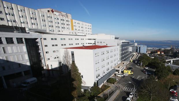 Vista exterior del Complexo Hospitalario Universitario de La Coruña (CHUAC)
