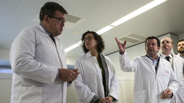 Acto electoral de Marta Rovira para las elecciones catalanas del 21D ayer en Tarrasa