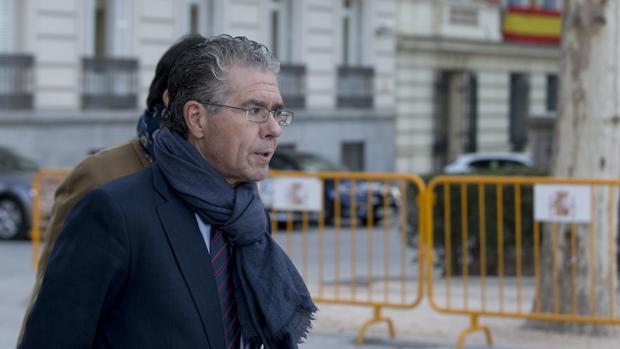 Francisco Granados llega a la Audiencia Nacional por el primer juicio del caso Púnica, el pasado 15 de noviembre
