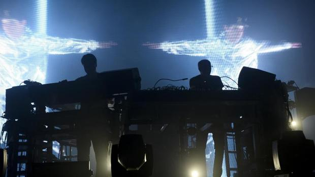 Concierto de The Chemical Brothers en el Sonar de Barcelona en 2015