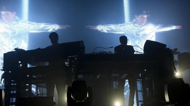 Concierto de The Chemical Brothers en el Sonar de Barcelona en 2015