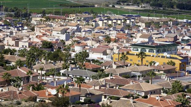 Vista panorámica de Ciudad Quesada, en Rojales (Alicante)