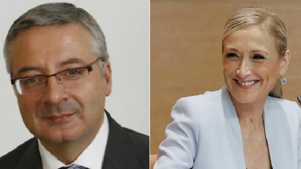 José Blanco y Cristina Cifuentes