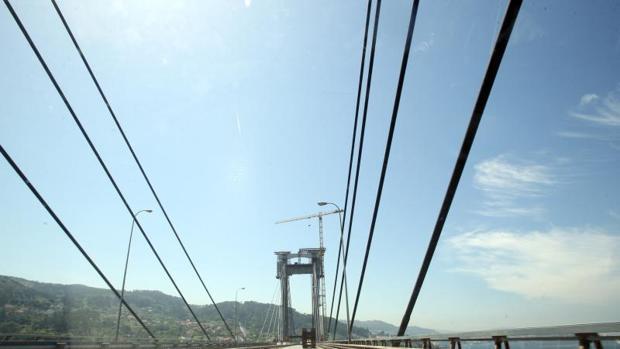 El puente de Rande sobre la ría de Vigo