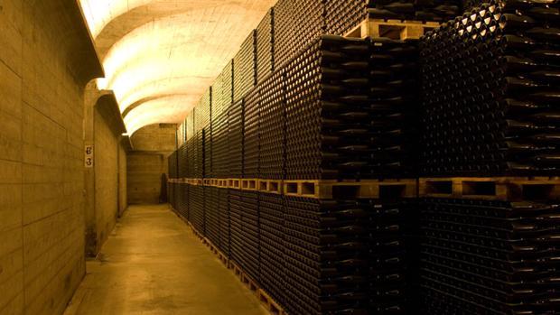Imagen de archivo del interior de una bodega de Requena