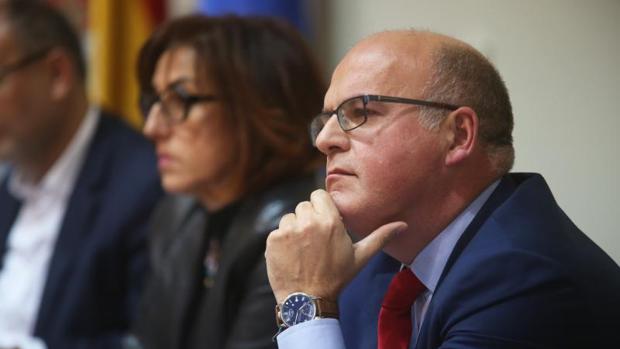 Manuel Baltar, presidente de la Diputación de Orense