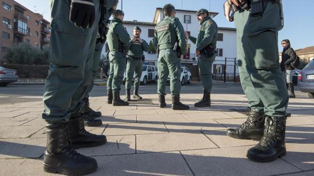 Agentes de la Guardia Civil, en una imagen de archivo