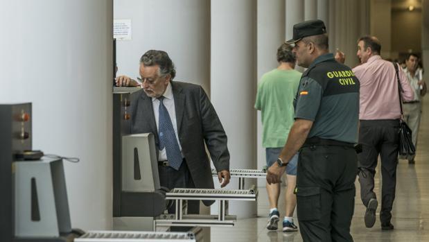 Alfonso Grau, en la Ciudad de la Justicia en una imagen de archivo