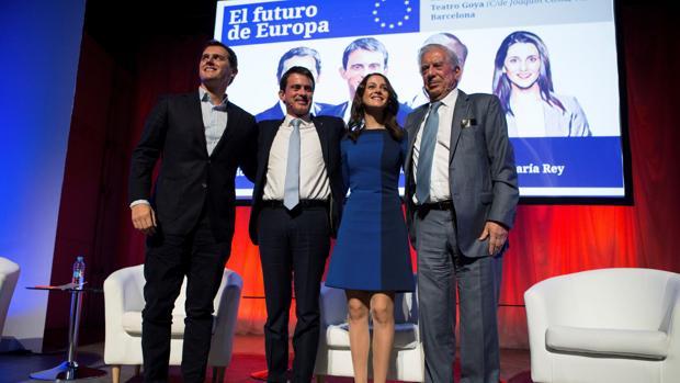 Rivera resta mérito a Rajoy frente al golpe separatista: «la mitad del freno lo ha dado Europa»