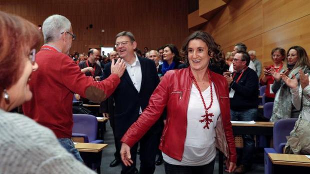 Mercedes Caballero liderará el PSPV en la provincia de Valencia para «acrecentar el poder» logrado en 2015