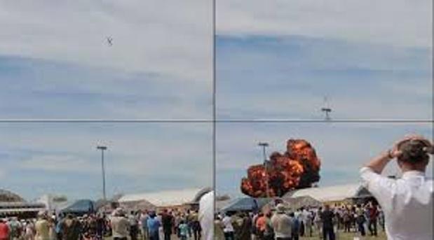 Así fue el accidente de la Base aérea de Cuatro Vientos