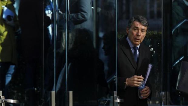 Ignacio González, tras declarar ante el juez