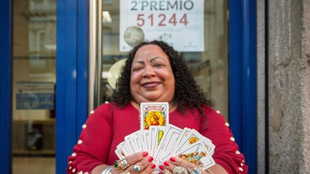 Elsa Altagracia, la vidente agraciada con el Segundo Premio
