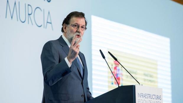 Rajoy pone en marcha en Murcia un plan nacional de 5.000 millones en carreteras