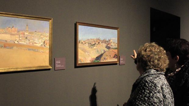 La famosa luz del pintor se derrama en los más de 60 cuadros de la muestra