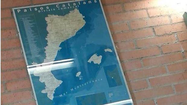 Imagen del mapa denunciado por el Ayuntamiento