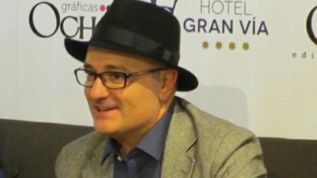 El autor vallisoletano Antonio Salinero