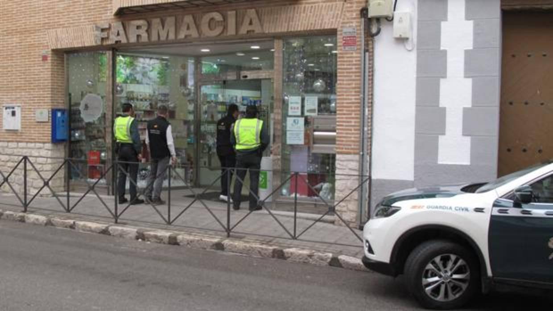 Dos detenidos, uno menor de edad, por comprar con recetas falsas en farmacias de Toledo