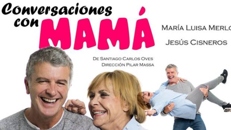 María Luisa Merlo y Jesús Cisneros estrenan «Conversaciones con mamá», este jueves, en Torrijos