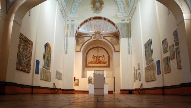 Interior del museo de cerámica