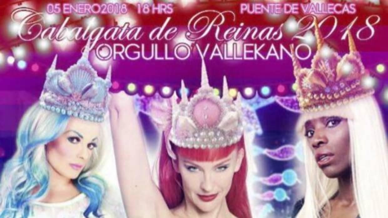 Un colectivo pide ante el juez que vete la carroza de la «drag queen» de la cabalgata de Vallecas