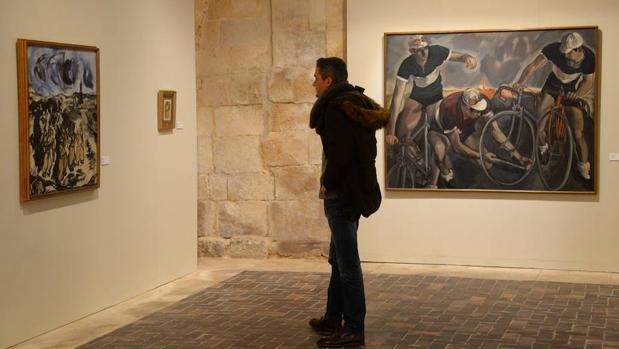 La muestra reúne en el Monasterio de Silos un total de 24 obras
